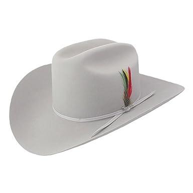 c496a926 Stetson Rancher 6x Reg Fur Felt Hat Mist Grey at Amazon Men's ...