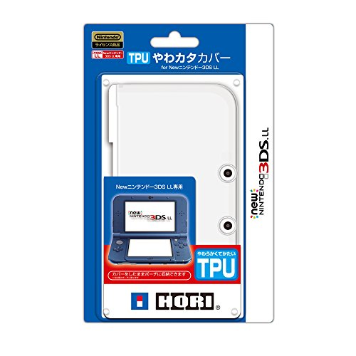 Hori Protector (TPU Duraflexi Cover for New Nintendo 3DS LL [Japan Import])