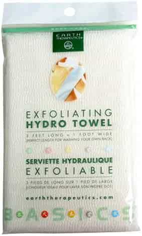 Earth Therapeutics Hydro Exfoliating Towel, 1 each (Pack of 2)