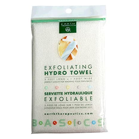 Earth Therapeutics Hydro Exfoliating Towel, 1 each (Pack of 2) 9115