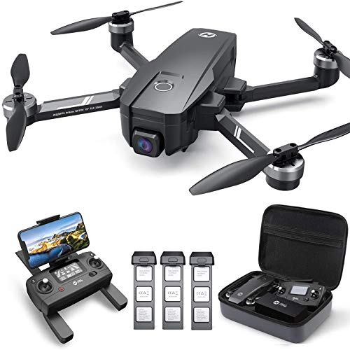 Holy Stone HS720E 4K EIS Drone with UHD Camera for Adults, Easy GPS Quadcopter for Beginner with Triple Flight Time…