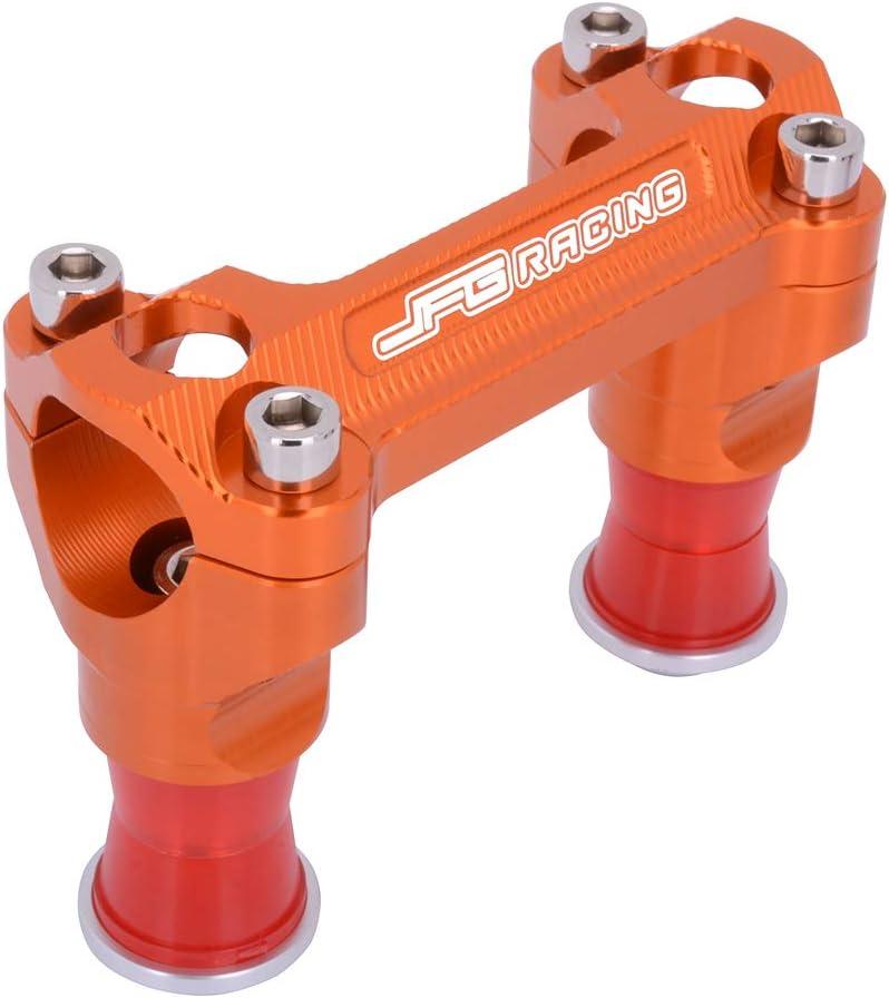 JFG Racing Support de Guidon pour K.T.M SX125 SX150 SX250 SXF250 SXF350 SXF450 XCF250 XC300 XC250