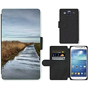 PU Cuir Flip Etui Portefeuille Coque Case Cover véritable Leather Housse Couvrir Couverture Fermeture Magnetique Silicone Support Carte Slots Protection Shell // F00002687 agua // Samsung Galaxy S3 S III SIII i9300