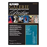 ILFORD 2002388 GALERIE Prestige Gold Cotton Smooth - 13 x 19 Inches, 25 Sheets