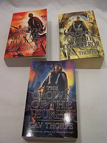 Empire of the Blood Trilogy: Crown of the Blood, Crown of the Conqueror, Crown of the Usurper