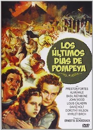 Der Untergang Von Pompeji The Last Days Of Pompeii 1935 Spanische