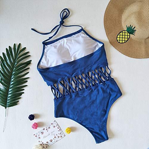 Bañadores Baño ❤️ Para Pieza Mujer Brasileños Verano Una Trajes Bañador Ropa Traje De Playa Absolute Bikini Moda Sexy Azul 5wSXWxqWC