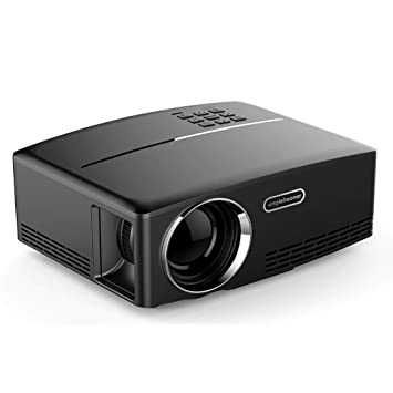 Lcme Mini proyector WiFi, proyector de Video con sincronización de ...
