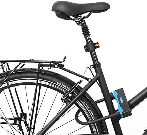 provelo Fahrradschloss 2 Wendeschlüssel Rahmenhalterung Fahrrad Sicherheits 7