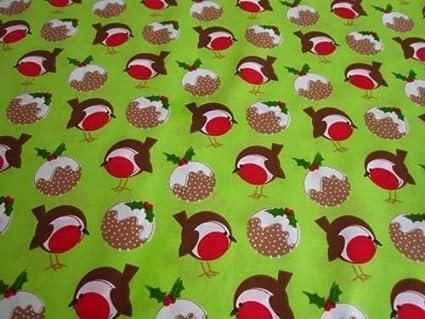 Medium// Large Toggles Christmas Robin Pud Puppy and Dog Bandana