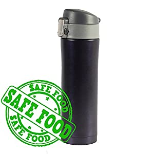 Travel mugs vacuum cupHot Cold Vacuum Stainless Steel Insulated Cup Water Bottle Thermal Mug, Car Insulated Travel Cup ,Coffee cup ,Travel cup (Dark blue)