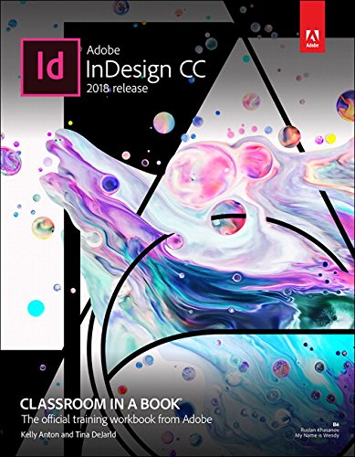Pdf Technology Adobe InDesign CC Classroom in a Book (2018 release)