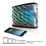 iHome iBT85 Splashproof Color Changing Rechargeable Bluetooth Stereo Speaker with Speakerphone