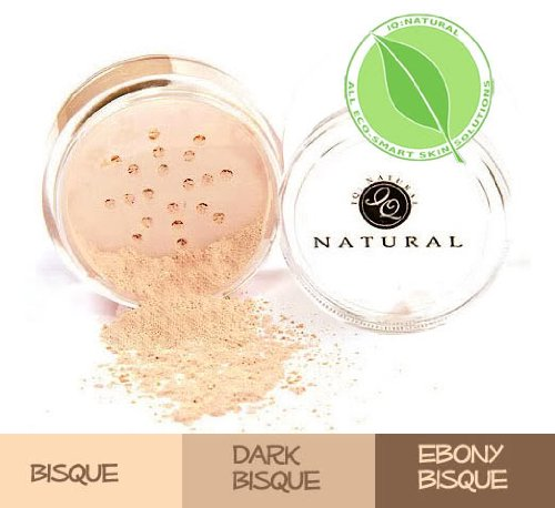 "Price comparison product image Multi-tasking Mineral Makeup Concealer, ""Bisque"", by iQ Natural"