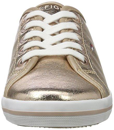 Gold Garçons Or et Sneaker Basses Hilfiger S3285ammie Filles 21z Tommy Or AWwTaxZgW