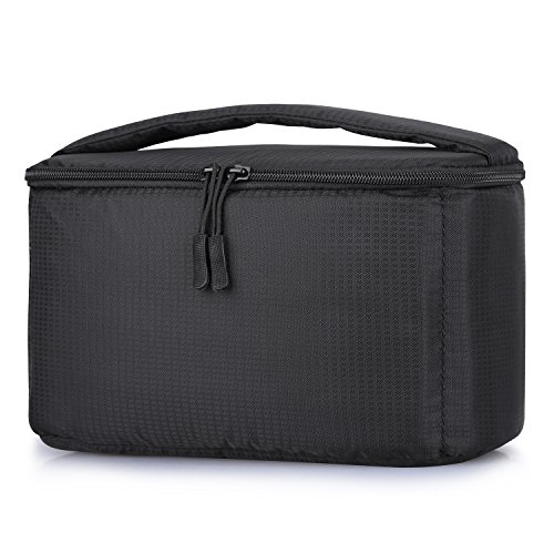 S-ZONE Waterproof Camera Insert Bag with Sleeve Camera Case