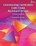 img - for Constructing Curriculum Units Using Backward Design book / textbook / text book