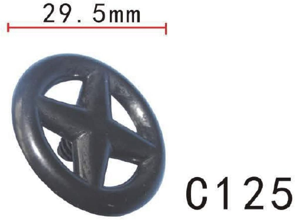 for Nissan #65832-F5000 Pack of 20 65846-30F00 Hood /& Trunk Insulation Retainer Clip