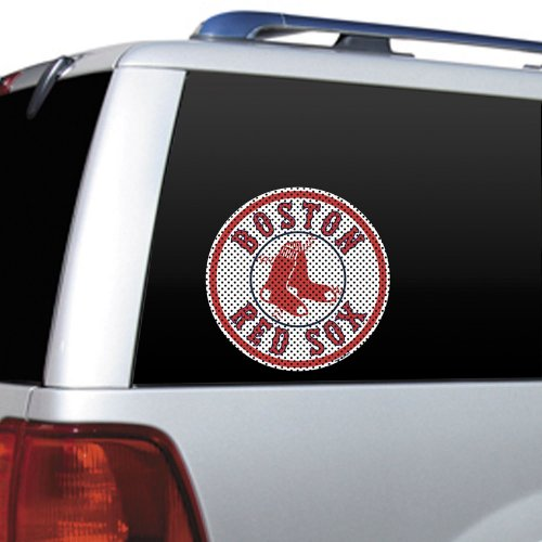 - MLB Boston Red Sox Die Cut Window Film