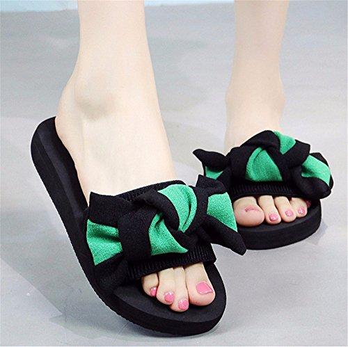 de moda de de c mano Señoras FLYRCX frío playa antideslizante exterior zapatillas verano casual zapatillas 07qvS6z7