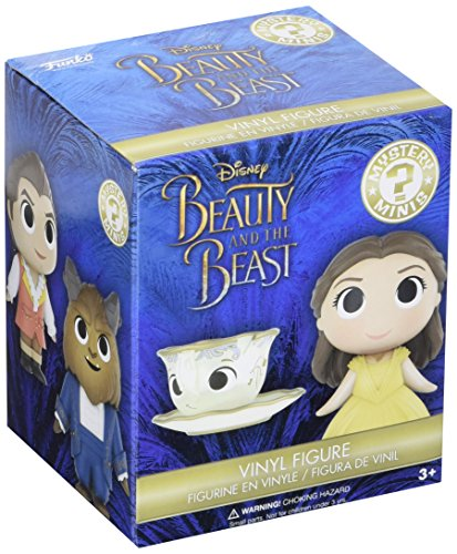 Mystery Box Mini Figure (Funko Mystery Mini: Beauty & The Beast Live Action One Mystery Toy Figure)