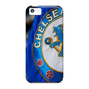 First-class Case Cover For Iphone 5c Dual Protection Cover Chelsea Fc Logo