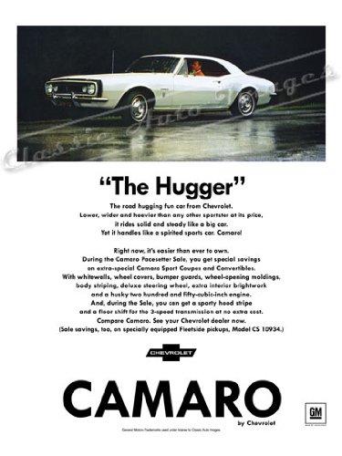 classic camaro poster - 1