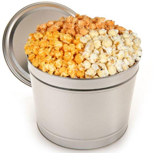 Triple Cheddar Popcorn Tin - 1 Gallon
