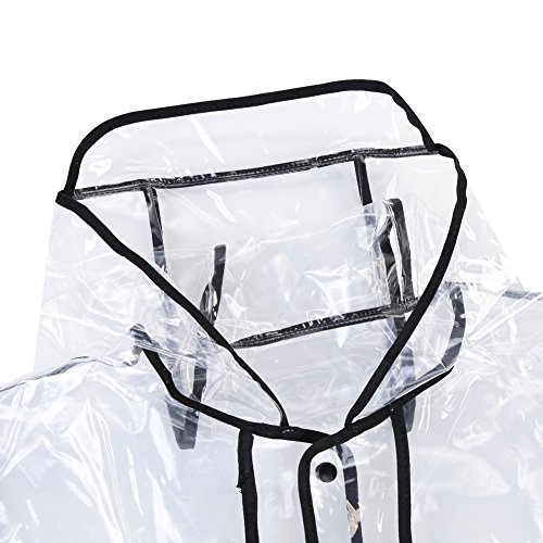 Rainwear Rain Outerwear Showerproof Girls Jacket Hooded Packaway Portable Lightweight Transparent Waterproof Zicac Womens Style Fashion Reuseable Raincoat 2 Travel wzqIKpa
