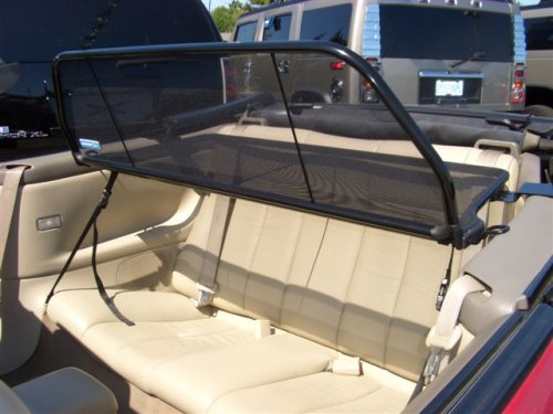 Solara Convertible 1999 to 2003 , Love The Drive™ Wind Deflector. Wind Deflectors are as known as Windscreen, Windstop, Wind Blocker, and Wind Jammer