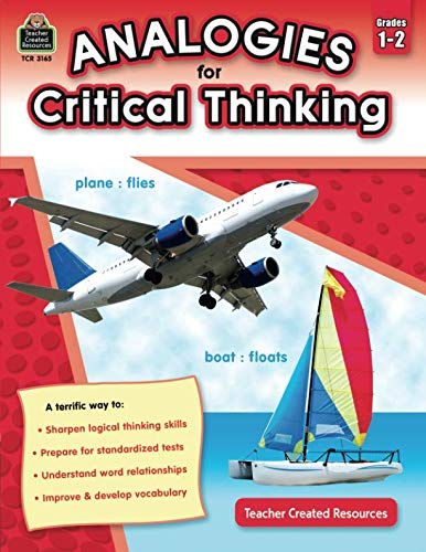 Analogies for Critical Thinking, Grade 1-2 ()