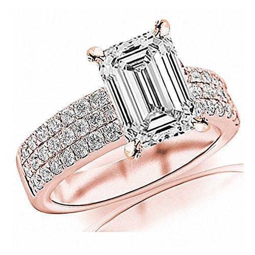 0.89 Ct Emerald Cut Diamond - 1