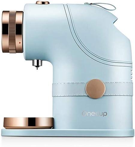 SUNHAO Cafetera Bebida inteligente del leche de la soja pequeño hogar cafetera sección azul de la máquina de cápsulas: Amazon.es: Hogar