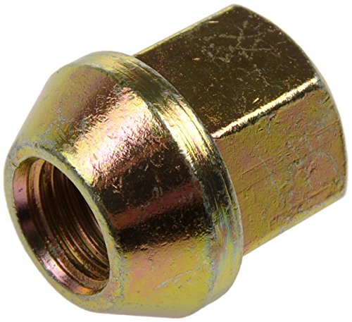 Dorman 611-063-BP Bulge Wheel Nut - M12-1.50, 19mm Hex, 23mm Length, Pack of (23mm Wheel Nuts)