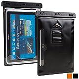 10.1'' inch Waterproof case, COOPER VODA Water Resistant Outdoor Protective Carrying Case Cover