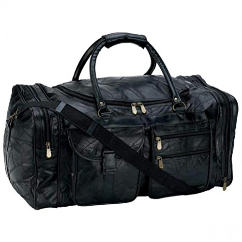 B&F Embassy 25 in. Leather Cowhide Duffle Bg [Kitchen] LULCW25 Bag