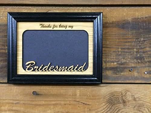 Amazon.com: 5x7 Bridesmaid Picture Frame: Handmade