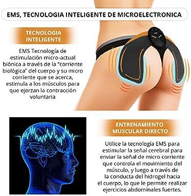 Electroestimulador muscular para gluteos   Estimulador de Glúteos ...