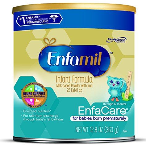 Enfamil EnfaCare Baby Formula - 12.8 oz Powder Can (Pack of 6) (Packaging May Vary)