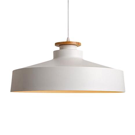 Contemporary Ceiling Light, MKLOT Ecopower Minimalist Lighting Wood ...