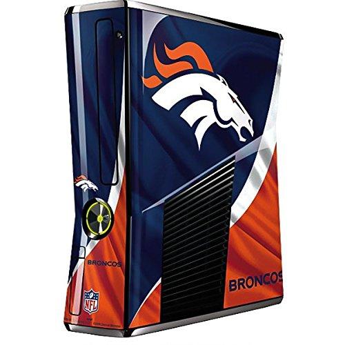 NFL Denver Broncos Xbox 360 Slim (2010) Skin - Denver Broncos Vinyl Decal Skin For Your Xbox 360