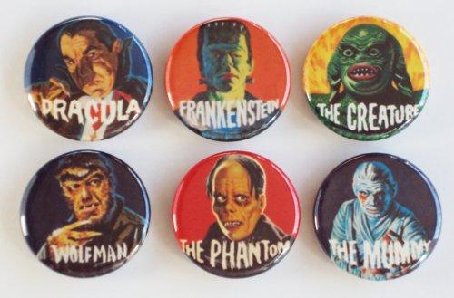 Famous Monsters Fridge Magnet