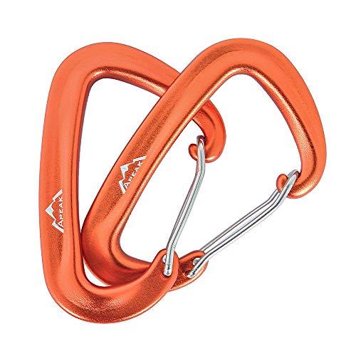 Apeak 12KN Aluminum Carabiner Premium Wire Gate 3