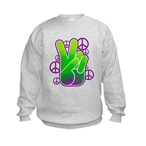 Peace Sign Kids Sweatshirt - 3