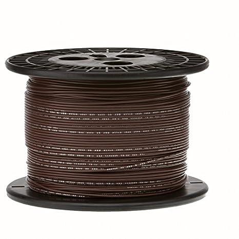 "28 AWG Gauge Stranded Hook Up Wire White 1000 ft 0.0126/"" MIL Spec 600 Volts"