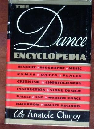 The Dance Encyclopedia (SIGNED PRESENTATION COPY)