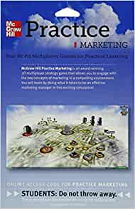 practice marketing simulation Practice marketing simulation - essay example this report analyses the advertising decisions made by marketing team off in reticular it will focus on the choice in .