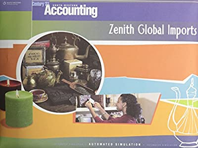Zenith Global Imports Automated Simulation for Century 21 Accounting Multicolumn Journal (BlueText), Eighth Edition