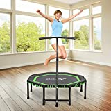 Best Fitness Trampolines - MOVTOTOP Indoor Fitness Trampoline Foldable 48 Inch Review