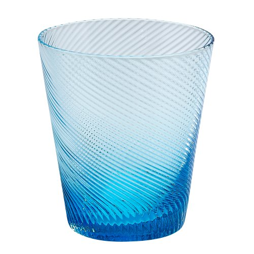 - Impulse Roma Rocks Glass, Aqua, Set of 4